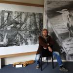 Atelier Ralf Wilhelm Schmidt_in seinem Caputher Atelier_300dpi