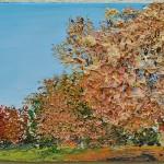 1_Monika TAFFET___Im Park, 2012, Öl auf Leinwand, 30 x 70 cm_