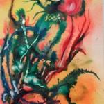 2. Farbenspiel Aquacolor Acryl