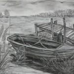 Das Boot am Steg