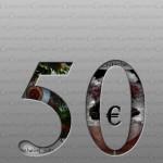 Gutschein 50 € - 300 dpi