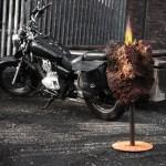 Michael Sting - Lavafeuer mit Motorrad