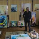 Rani B. Knobel im Atelier - Fotograf A. Zimmer