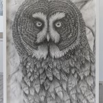 Spiegel, Bleistift, 100x140cm